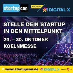 StartupCon 2019 – dieses Jahr Teil der DIGITAL X 2019