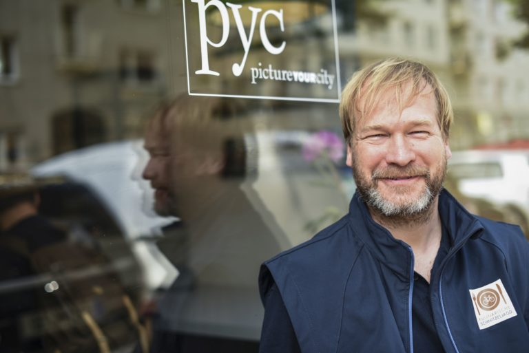 Peter Wiedeking von der kulinarischen Schnitzeljagd