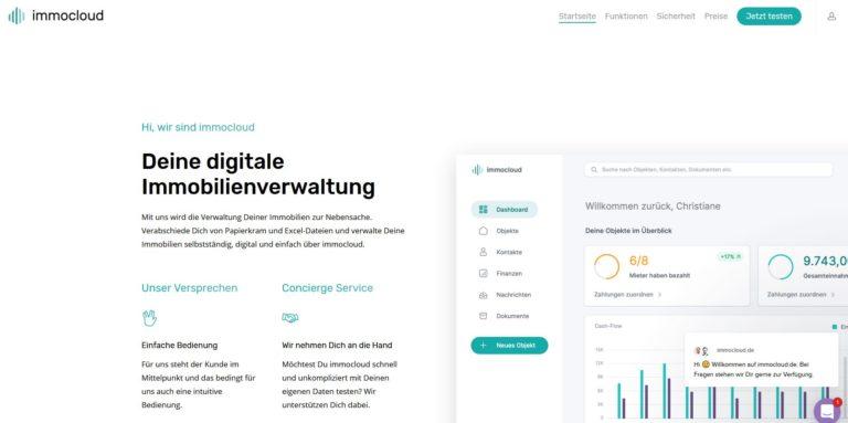 immocloud – Deine digitale Immobilienverwaltung