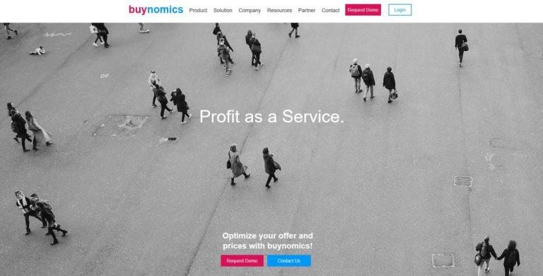 buynomics – hilft Dir bei der Preisgestaltung sowie der Komposition von Produkt-Portfolien
