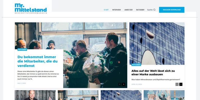 Mr. Mittelstand – Das neue Geschäftsführermagazin von Matthias Aumann