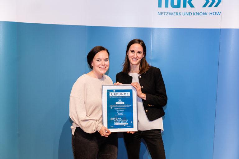 Kölner Startup uma gewinnt 25. NUK Businessplan-Wettbewerb – Minister Pinkwart gratuliert zum Jubiläum