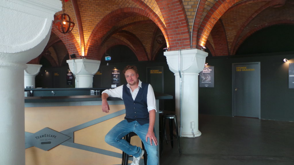 Sebastian Gerding von TeamEscape