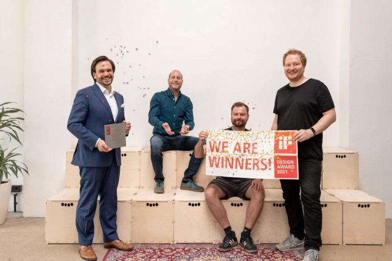 aedifion Frontend gewinnt iF Design Award 2021